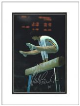 Nadia Comaneci Autograph Signed Photo - Gymnastics